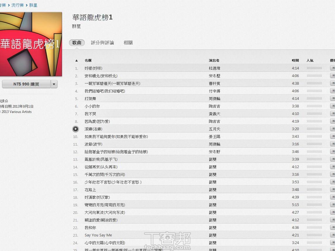 iTunes 也有盜版音樂!大陸山寨「知名歌手」登入 iTunes
