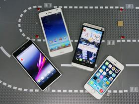 iPhone 5s、Xperia Z1、Padfone、新 HTC One 相機大對決!