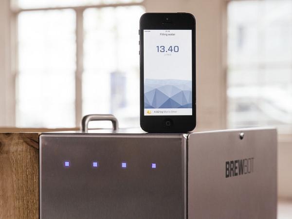 Brewbot:用 iPhone 來釀啤酒