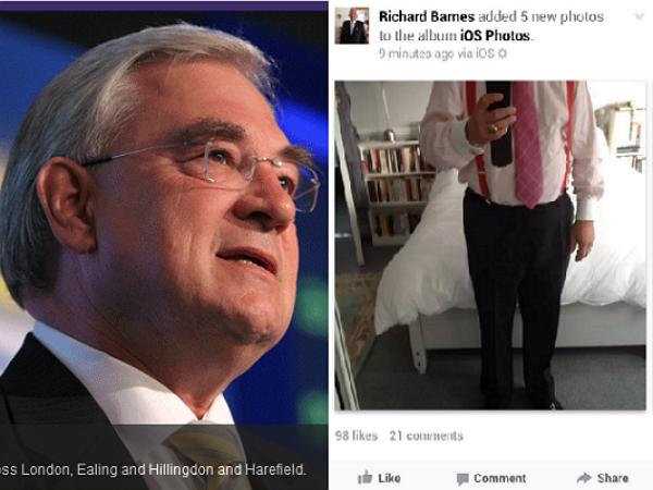 官位越高人越蠢,倫敦前副市長因不熟iPhone在臉書公然溜鳥