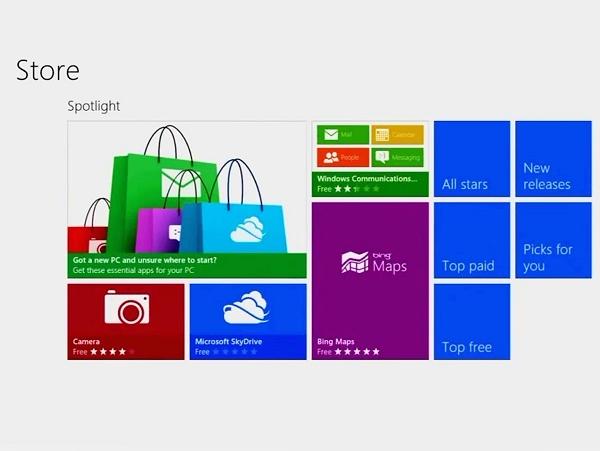 傳微軟將把 Windows Store 和 Windows Phone Store ,甚至連 Xbox 商店都整合在一起