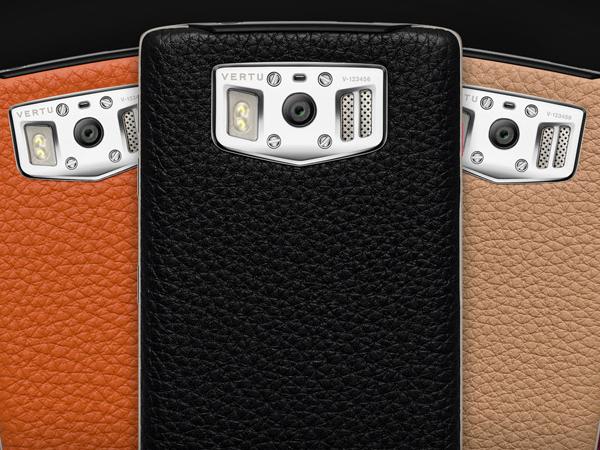 不用金色就很高貴,Vertu 推出新款 Android 手機,售價約 19 萬台幣