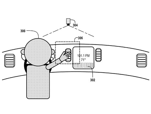 Google 想要開發車用的手勢控制,手滑動就可以切換廣播電台、升降窗戶