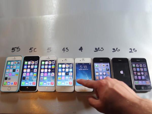 愈新型的機種效能愈好?iPhone 5s 各方面的速度都是最快的嗎?