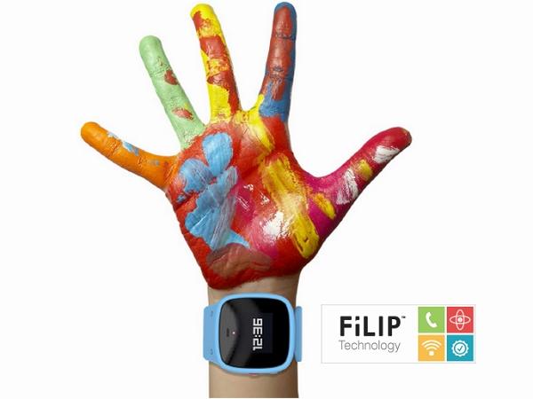 FiLIP 推出兒童智慧型手錶,家長可透過GPS進行即時監護,也可以單鍵雙向通話