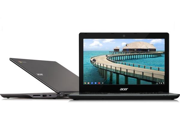 超便宜 Chromebook,Acer C720 現身