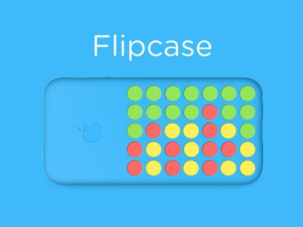 iPhone 5c 保護套新玩法,Flipcase 讓你玩四子棋更有 fu | T客邦