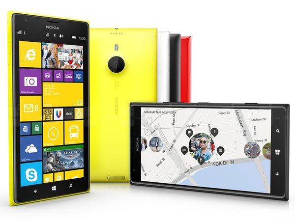 Nokia 發表 6 吋 Lumia 1520、Lumia 1320 手機、首款 Lumia 2520 平板及 Asha 系列手機