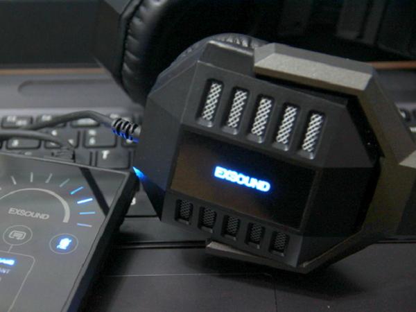EXSOUND SHARK VII 評測:電玩、影音娛樂雙棲的真實 7.1 聲道耳機