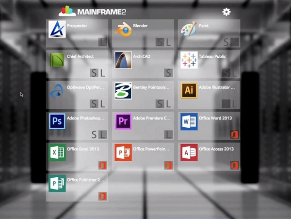 Mainframe 2  讓你只要使用瀏覽器,就可以在雲端使用 AutoCAD 和 Photoshop