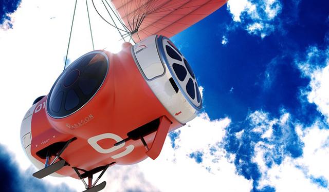 搭氣球飛上大氣層外看地球美景只要200萬!預計2016年起提供載客服務