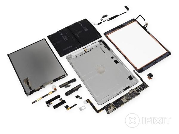 ifixit 拆解 iPad Air ,結論是難拆更難修