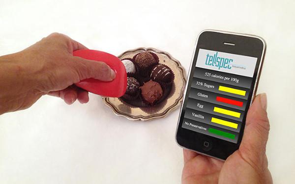 TellSpec:按一下幫你揪出過敏原,算出食物熱量