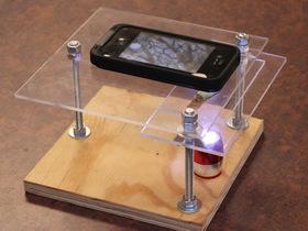 自製顯微攝影檯,讓 iPhone 也可以拍出超微距攝影