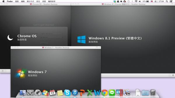 MAC 無痛執行 Windows:Parallels Desktop 多系統共存、雲端同步好方便