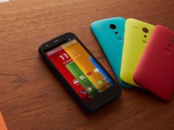 Moto G 平價發表!6000 元買 Qualcomm 四核處理器,C/P 值緊追紅米手機