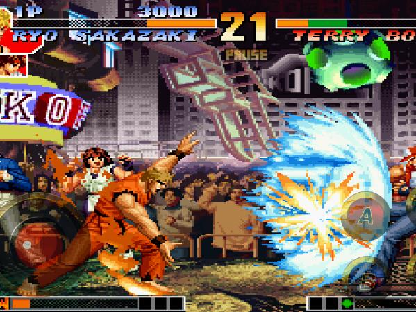 格鬥天王 '97 在 Android 上重製上架,支援藍牙雙打