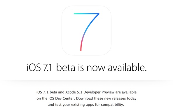 iOS 7.1 Beta 1 初探:8大視覺和功能改變