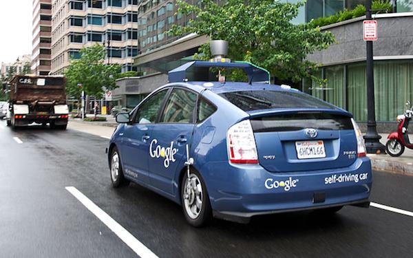 近距離接觸神秘的 Google 無人駕駛汽車團隊
