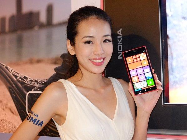 Nokia Lumia 1520 中華電信月底開賣,6 吋螢幕售價 21,900 元