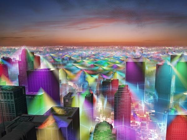 如果手機訊號可見,世界看起來會是什麼樣? | T客邦
