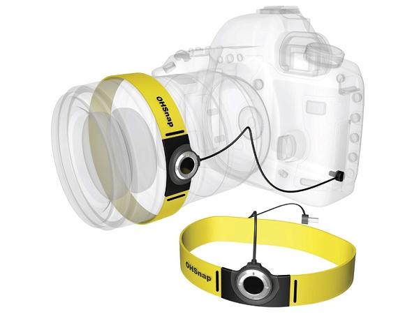 獨臂的人士要如何使用單眼相機拍照?OHS可以助一臂之力