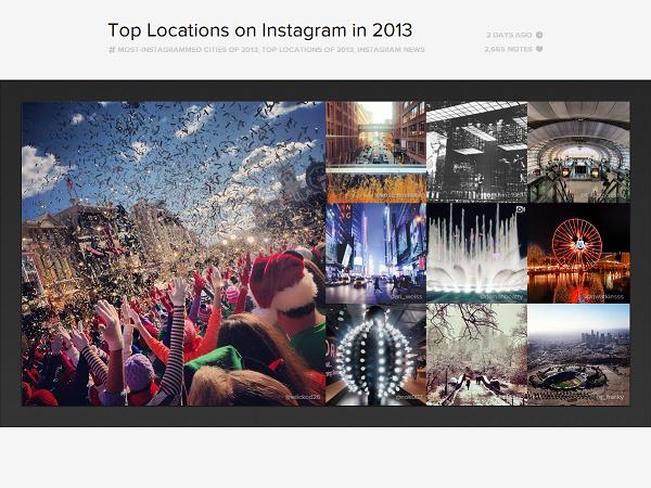 2013 Instagram 熱門打卡地點出爐,泰國 Siam paragon 百貨奪冠