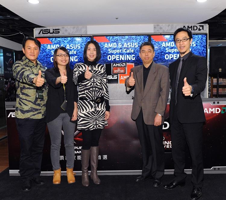 AMD與華碩聯手打造Super iCafe 實現玩家夢想中的電玩樂園