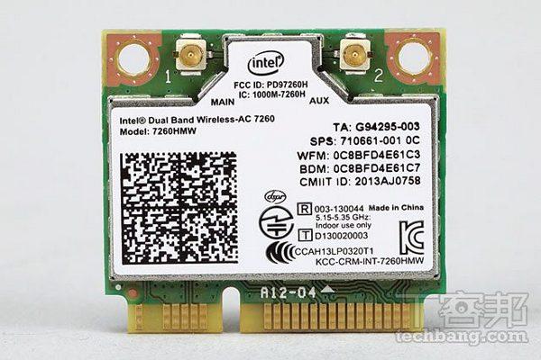 GIGABYTE GC-WB867D-I 評測,千元的 Intel 802.11ac 內接無線網卡