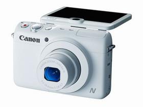 Canon PowerShot N100 隨身機發表:新增NFC近場通訊、LCD上多顆視訊鏡頭