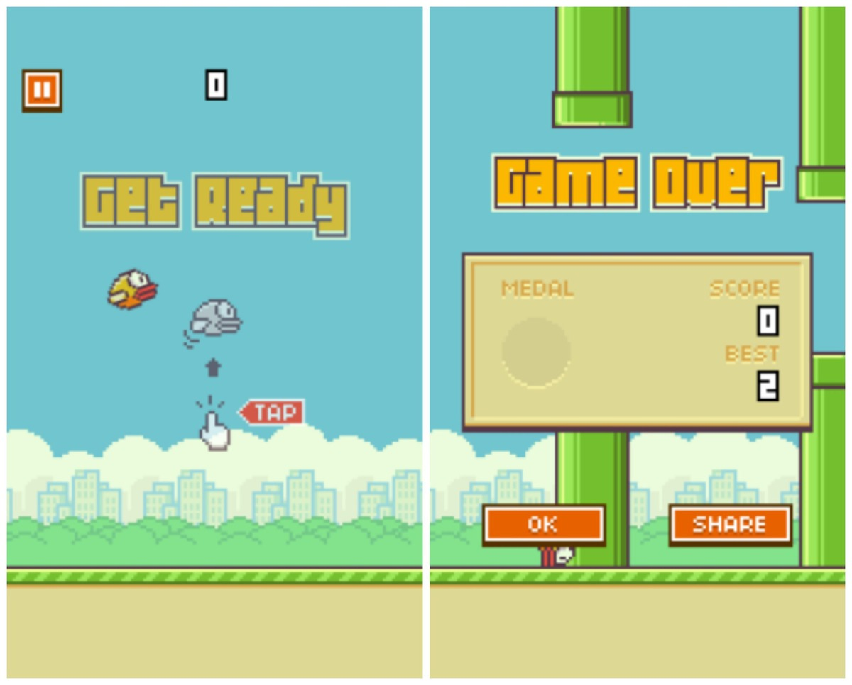 爆紅遊戲 Flappy Bird 開發者表示下架在即