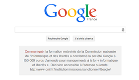 Google 法國被罰在首頁刊登處罰公告,「不作惡」信條再被抹黑?