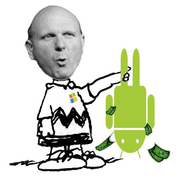 2013 年 Android 幫微軟賺進了 16 億美元