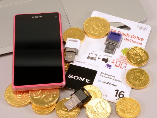 Sony OTG USM-SA1 OTG 隨身碟:相容 Android 與電腦,靈活存取隨插即用