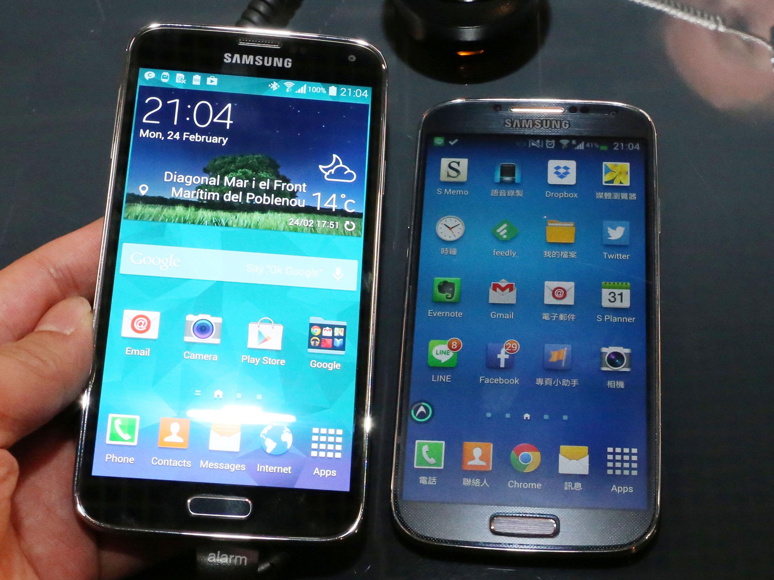 防水、指紋辨識、4G、心跳偵測全都有, Samsung Galaxy S5 搶先體驗