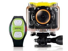BenQ SP1運動攝影機限量大放送! 官網註冊留好評、送水/陸極限配件組