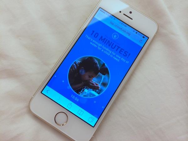 放下手機10分鐘,你就能讓非洲兒童有水喝