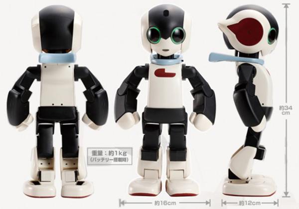 日本智慧機器人Robi搶鮮登台!療癒風格受喜愛,超萌互動一起過生活!