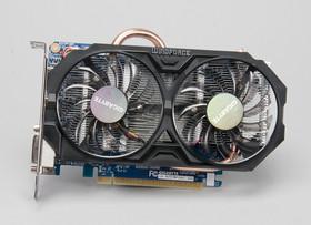 技嘉 WindForce GTX 750Ti ,目前最快的一款 Maxwell
