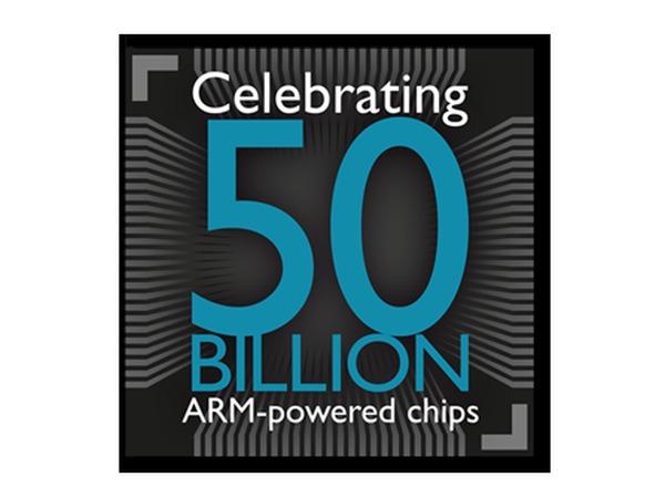 成立 24 年,ARM 晶片出貨量達 500 億組