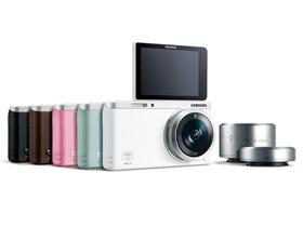 Samsung NX mini 輕巧降臨,1吋感光元件自拍微單眼