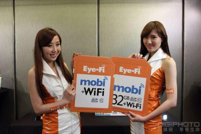 新一代 Eye-Fi 無線記憶卡 Mobi 登台, Wi-Fi 傳輸迅速又省電