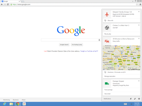Chrome 桌面版正式加入 Google Now 功能,讓瀏覽器加入你的隨身助理