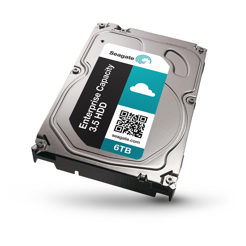 希捷科技宣佈全球最快6TB硬碟已開始向擴充式雲端資料中心出貨