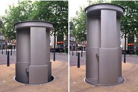 澳洲雪梨市推廣自動彈起公共廁所