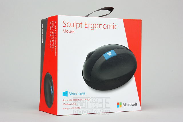 編輯敗家:Microsoft Sculpt Ergonomic Mouse 人體工學滑鼠