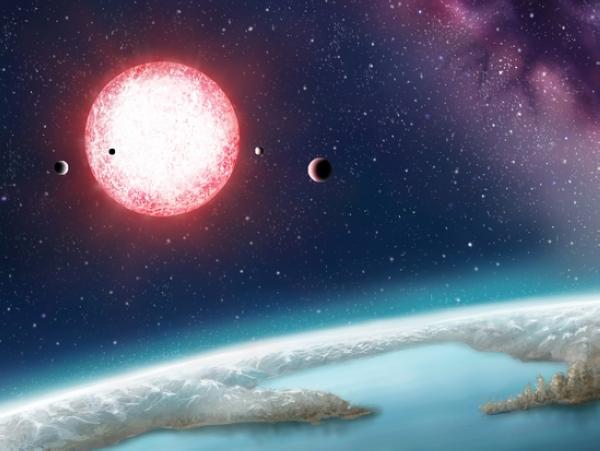 另一顆地球?發現第一顆位在適居區內的地球級系外行星