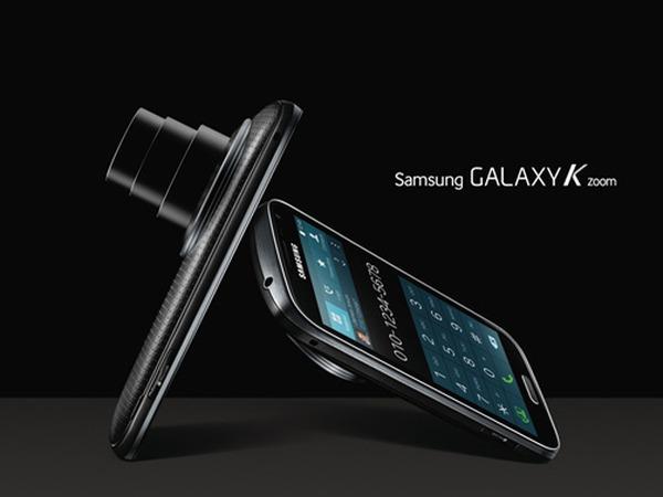 10 倍光學變焦 Galaxy K Zoom 發表,硬體規格更強悍