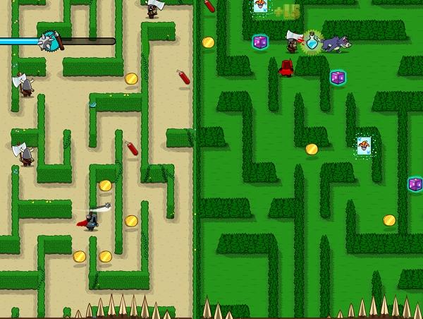 無盡的迷宮!跟著騎士來冒險