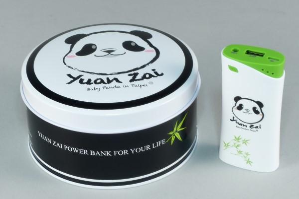 可愛先決,PowerSkin熊貓圓仔KP5202行動電源